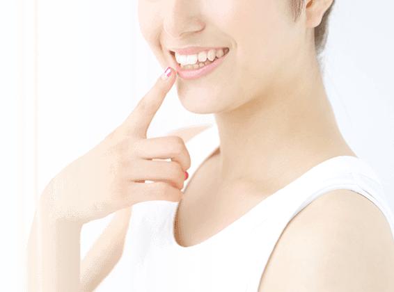 歯並びの美しい女性